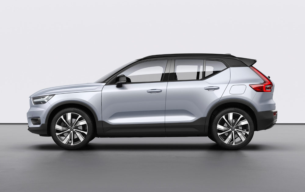 259190 Volvo Xc40 Recharge P8 Awd In Glacier Silver
