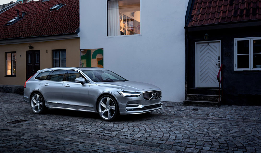 Volvo Introduceert Extra Luxe Volvo V90 T4 Business Luxury