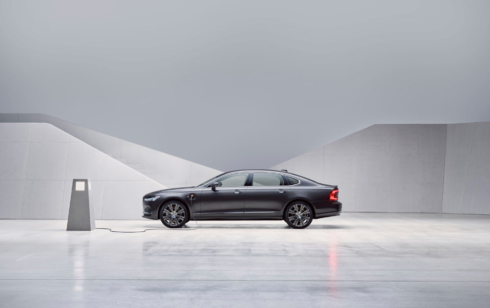 262869 Studio Images The Refreshed Volvo S90 Recharge T8
