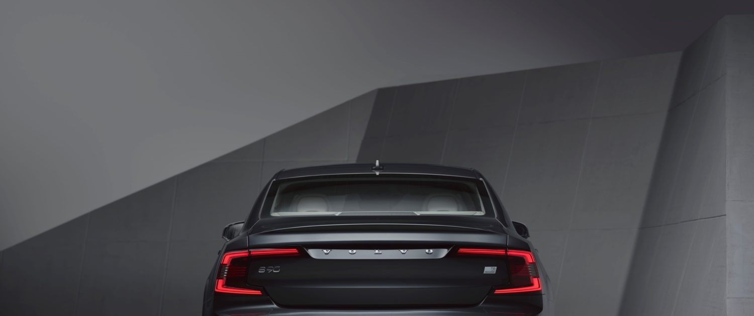 Studio Images The Refreshed Volvo S90 Recharge T8