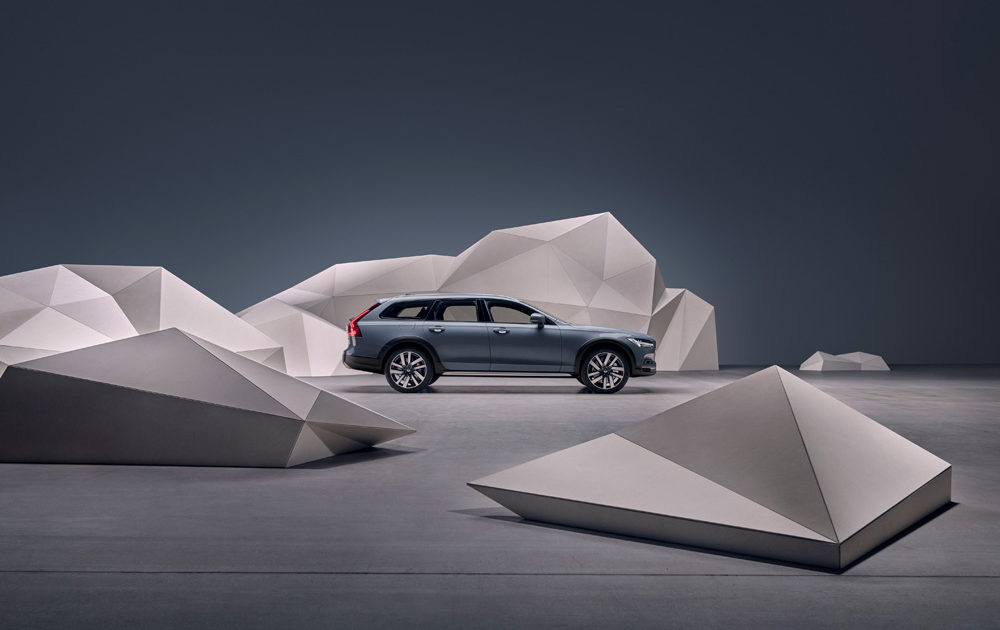 262873 Studio Images The Refreshed Volvo V90 Cross Country Recharge T8