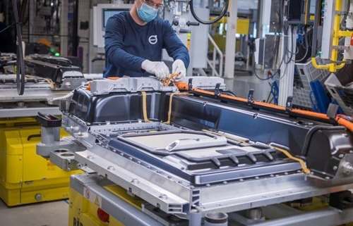 Nieuws Volvo Battery Assembly Ghent